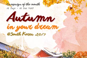Autumn in your dream  @South Korea