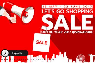 Let's go Shopping! Sale of the year 2017 @SINGAPORE