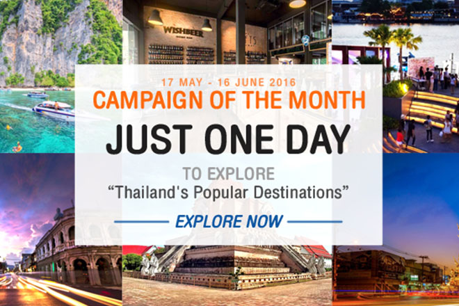 Just ONE DAY to explore Thailand's Popular Destinations