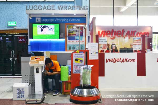 Luggage Wrapping Services