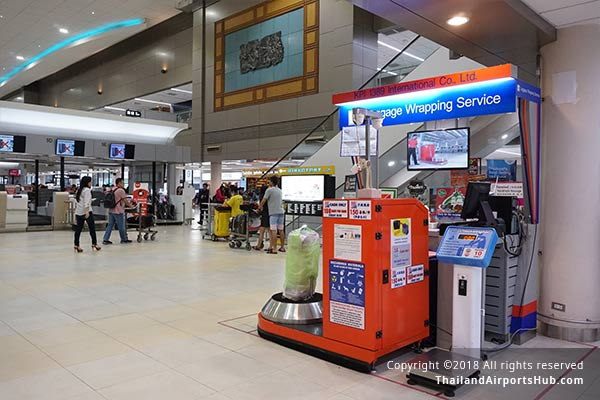 Luggage Services in Donmueang Airport