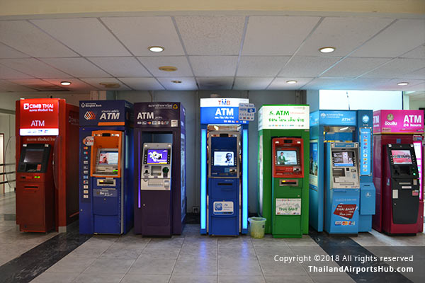 Bank and Currency Exchange - Hatyai Airport (HDY)