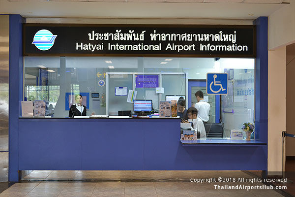 Information Counter - Hatyai Airport (HDY)