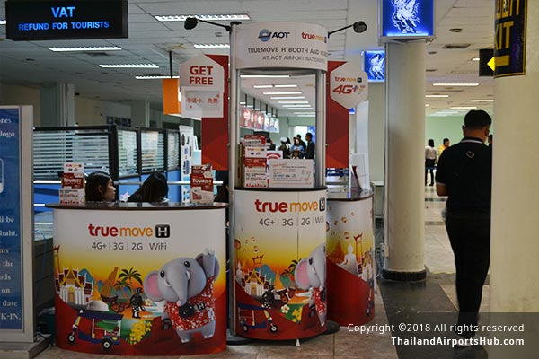 Mobile Phone Services in Hatyai Airport