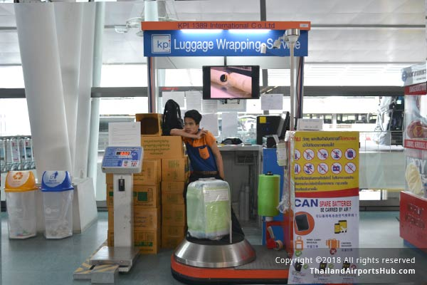 Luggages Services in Phuket Airport