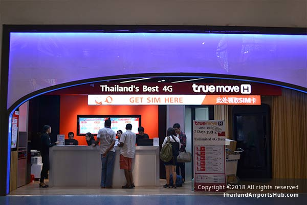 Mobile Phone Services in Phuket Airport